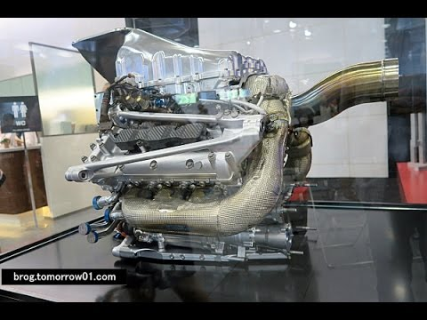Honda F1 Engine RA615H McLaren-Honda MP4-30 2015