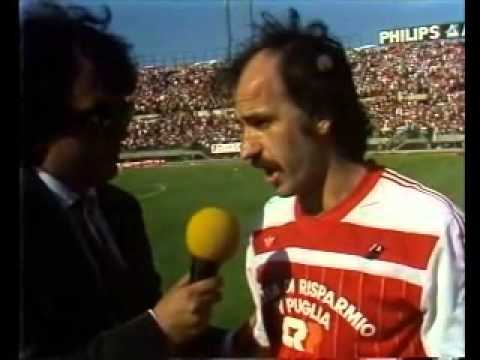 Bari pescara 2 0 serie b 1984 85 38a giornata youtube for Serie a table 1984 85