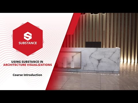 Using Substance in Architecture Visualizations - Introduction
