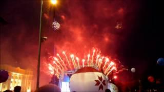 Праздничный салют в Саранске