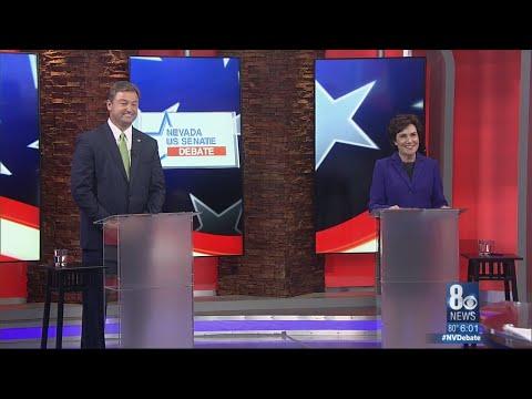 U.S. Senate debate between Senator Heller and Congresswoman Rosen