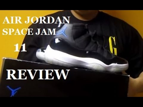 74a6588150d216 Space Jam 11 Air Jordan XI Sneaker Review With  DJDELZ Plus On Feet -  YouTube