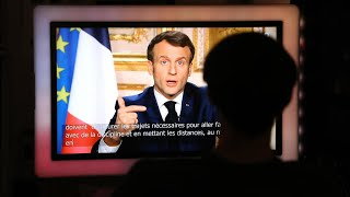 REPLAY - Allocution d'Emmanuel Macron sur le coronavirus Covid-19 en France