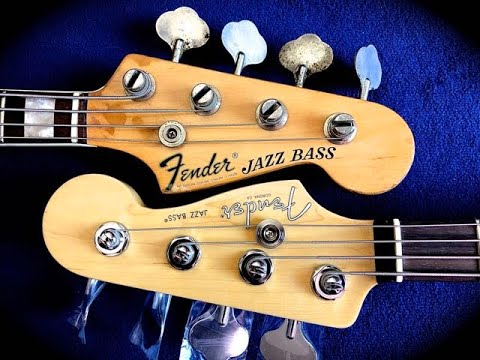 Fender Jazz Bass | 1969 Vs 2019