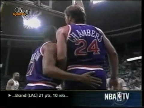 1990 NBA playoffs wcr1 game 5 Phoenix Suns-Utah Jazz