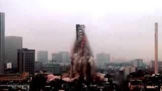AfE Tower Sprengung