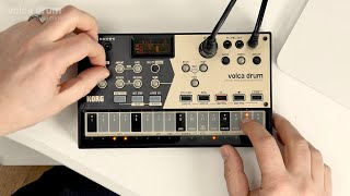 KORG volca drum - Features