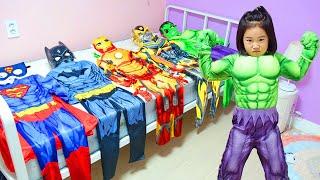 Boram se transforme en super-héros