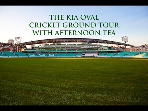 The Kia Oval Cricket Ground Tour & Afternoon Tea!