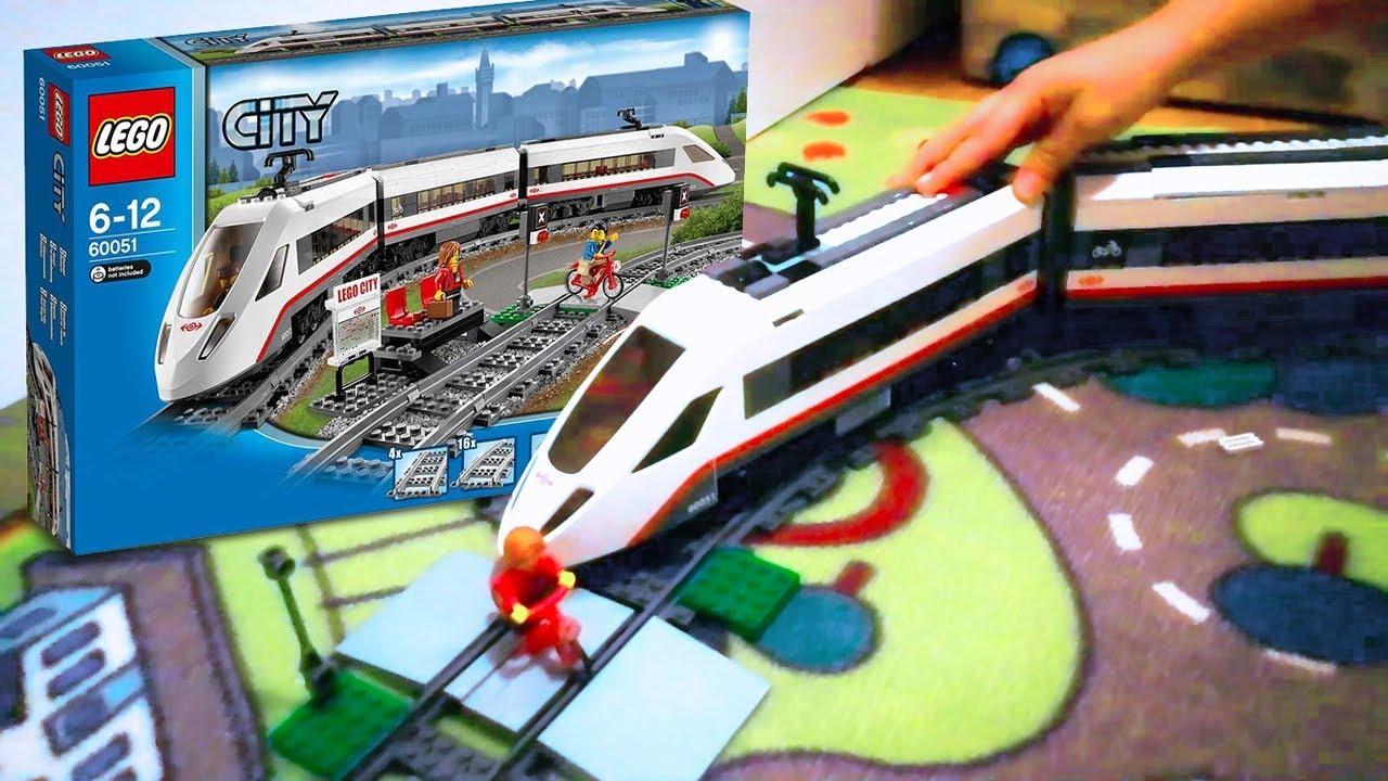 Lego City Pociąg Pendolino Prezent Od Mikołaja Youtube