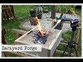 Mini Backyard Forge    DIY