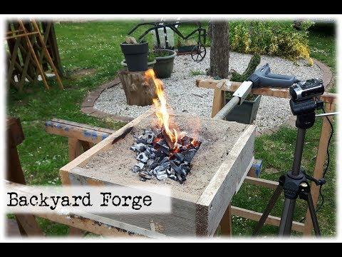 Mini Backyard Forge || DIY