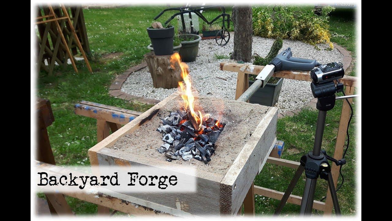 Backyard Forge mini backyard forge || diy - youtube