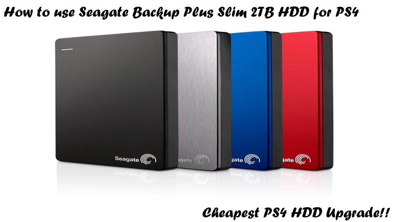 Seagate Backup plus 4 TB Arbeit mit PS4
