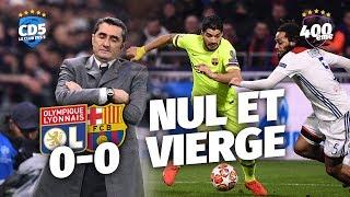 Lyon vs Barcelone (0-0) LIGUE DES CHAMPIONS - Débrief / Replay #400 - #CD5