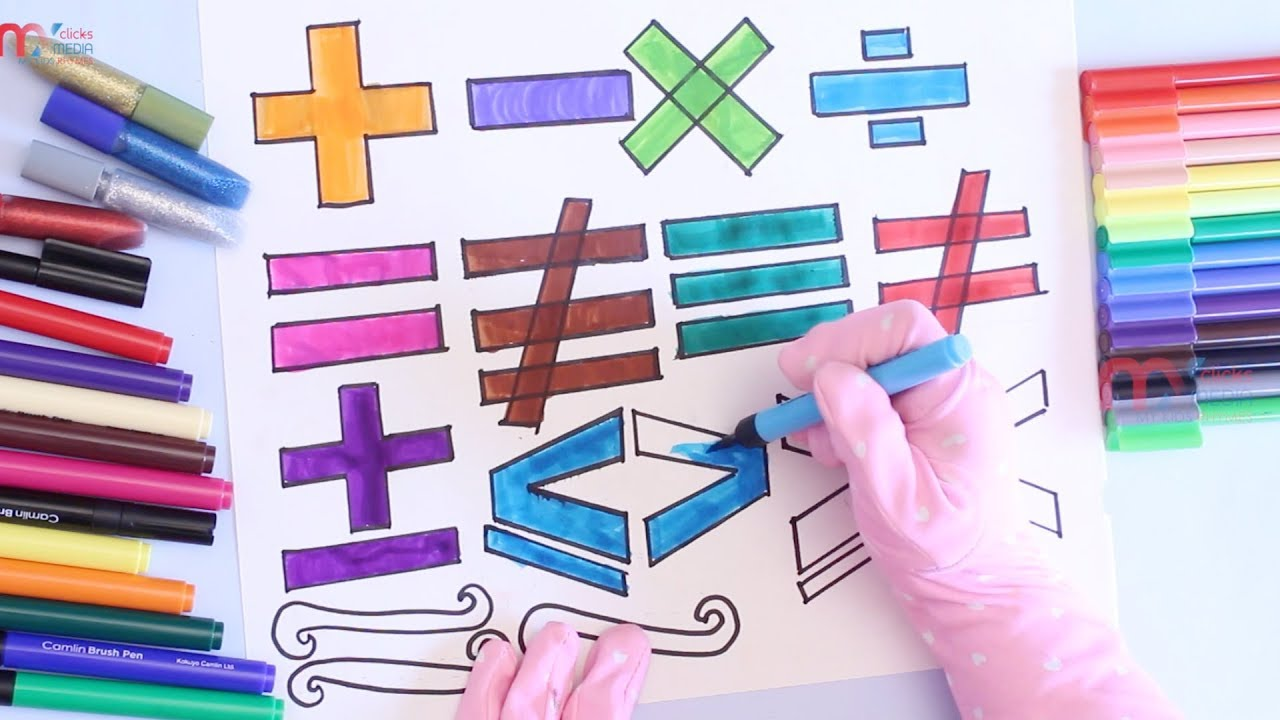 Draw and learn mathematical symbols for children educational video draw and learn mathematical symbols for children educational video for kids my kids rhymes biocorpaavc Image collections