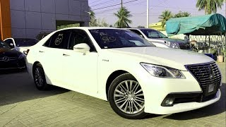 Toyota Crown- S CLASS FROM TOYOTA! In-Depth Review. #KarachiVlog13