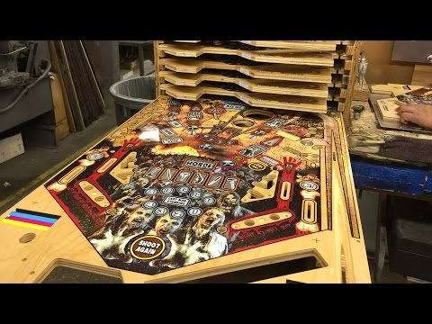 Making The Walking Dead Pinball Machine