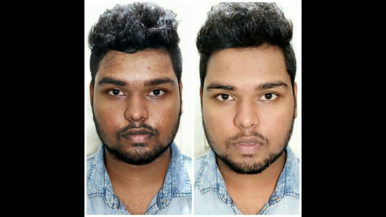 HOW TO GET BRIGHT AND CLEAR SKIN for men in 10 minutes  INDIAN MEN USING  HIMALAYA PRODUCTS