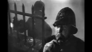 Foggy London Film Noir Crime Drama - Man In The Attic (1953)
