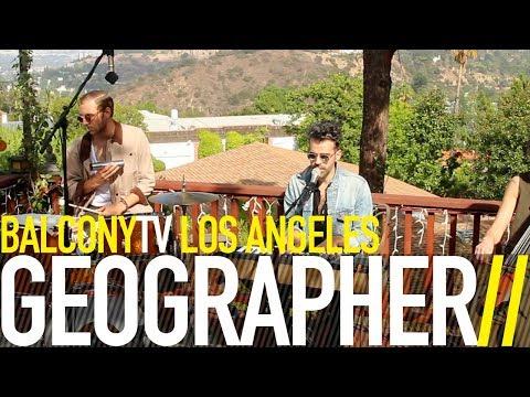 GEOGRAPHER - SO LOW (BalconyTV)