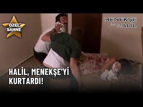 Halil Menekşe'yi Kurtardı! - Menekşe İle Halil Özel Klip