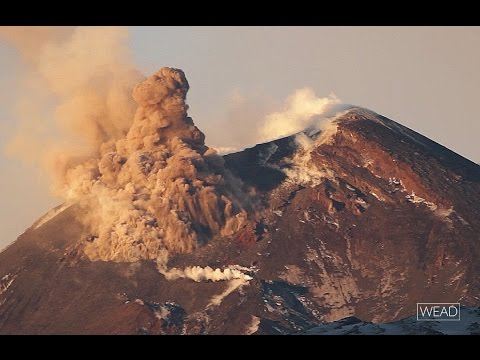 Pyroclastic flow - Etna volcano