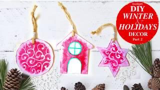 Budget DIY Winter and Holidays Decor 2018 Part 2