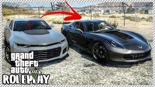 GTA 5 ROLEPLAY - Traded my Camaro ZL1 for Corvette Z06 | Ep. 239 Civ