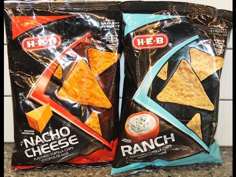 H-E-B Tortilla Chips: Nacho Cheese And Ranch Review