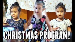 THEIR FIRST CHRISTMAS CONCERT! - Dancember 12, 2017 -  ItsJudysLife Vlogs