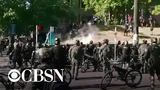 Protesters and police clash in Seattle
