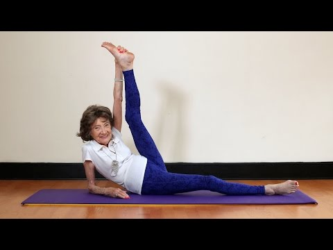 Video: Nanammal continues to practise and teach yoga in
