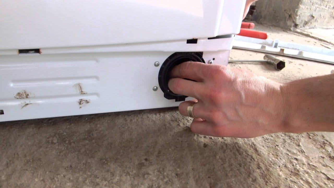 Tutorial curatare pompa evacuare masina spalat rufe