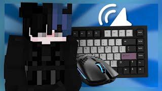Keyboard + Mouse ASMR Sounds (Handcam) | Hypixel Bedwars