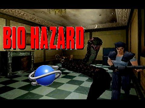 Bio Hazard playthrough (SEGA Saturn)