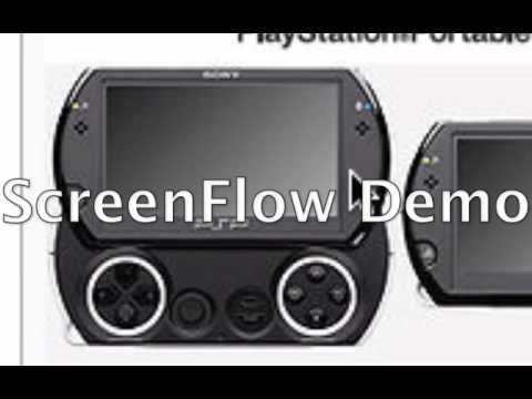 PSP Go! Features