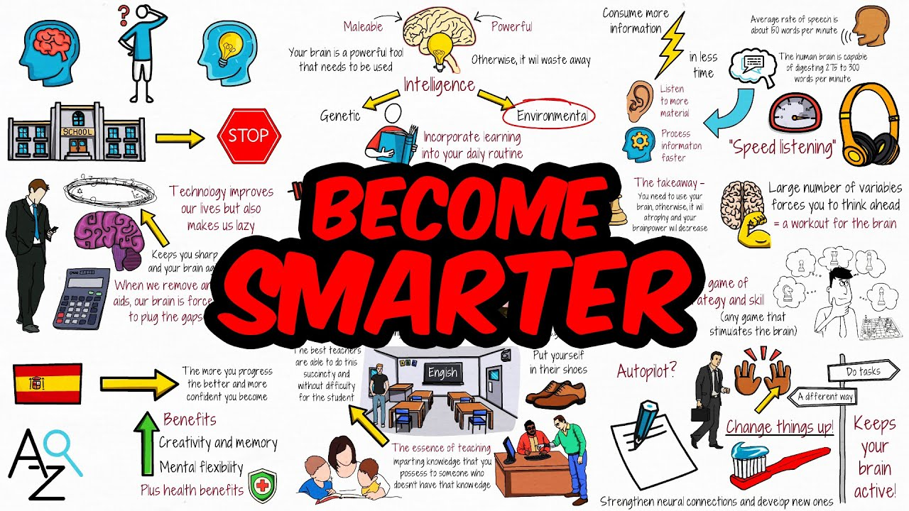 7 Unusual Ways To Become Smarter