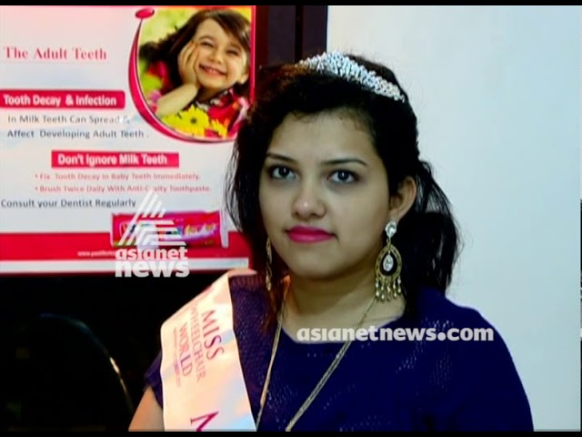 India's Rajalakshmi wins 'Popularity Award' at first Miss Wheelchair World Pageant