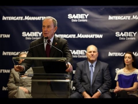 Mayor Bloomberg Speaks at Commissioning of Intergate Manhattan, Largest High-Rise Data Center