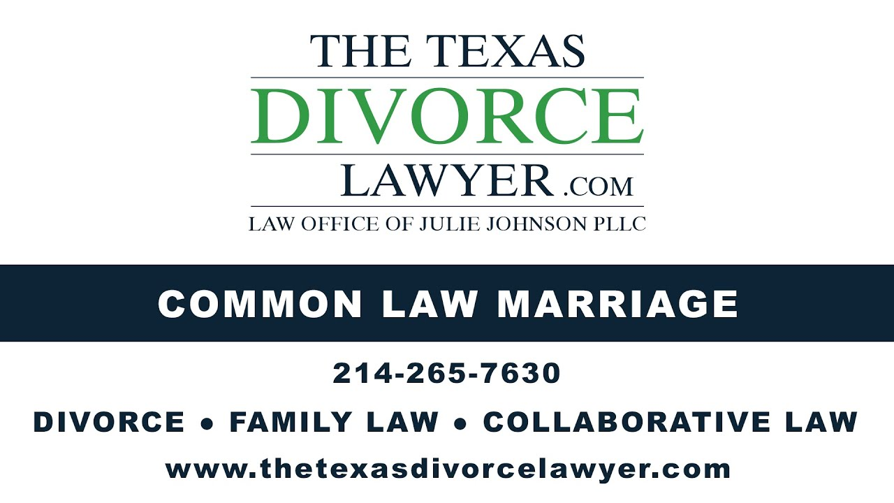 common law marriage divorce in texas