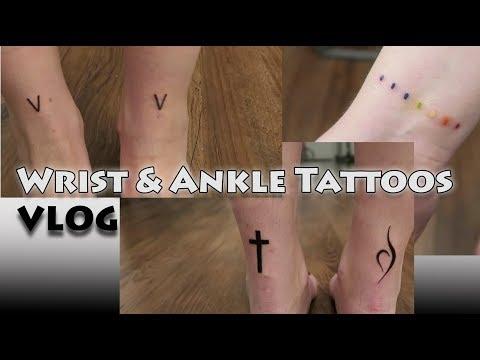 Wrist & Ankle Tattoo Vlog!