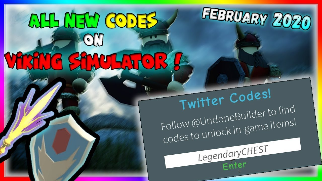 All New Codes In Viking Simulator February 2020 Roblox
