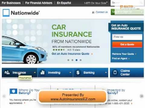 Allstate Sign In >> Nationwide Car Insurance Company Review & Ratings - YouTube