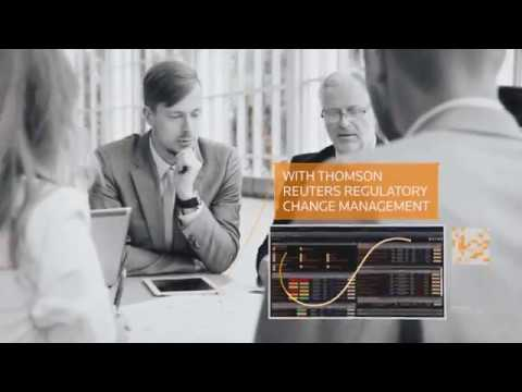 What makes Regulatory Change Management on Thomson Reuters Connected Risk an award-winning solution?