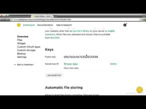 Awesome uploads with Uploadcare: Basic implementation (1/4)