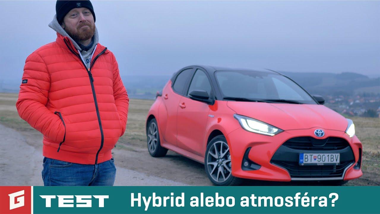 Toyota Yaris 1,5 Hybrid Dynamic Force (2021) - TEST - Rasťo Chvála
