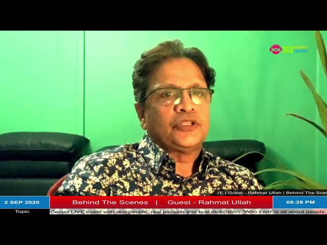 WHO I AM - Behind The Scenes, Guest - Rahmat Ullah
