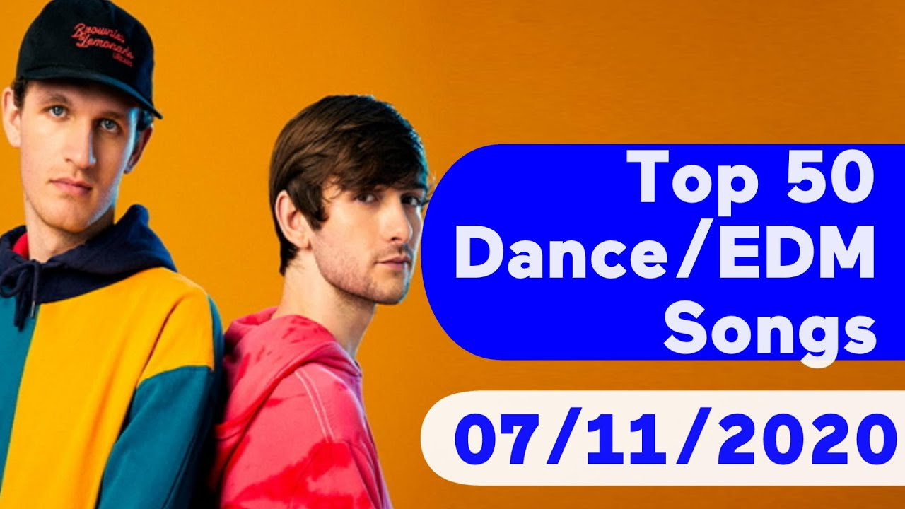 US Top 50 Dance/Electronic/EDM Songs (July 11, 2020)