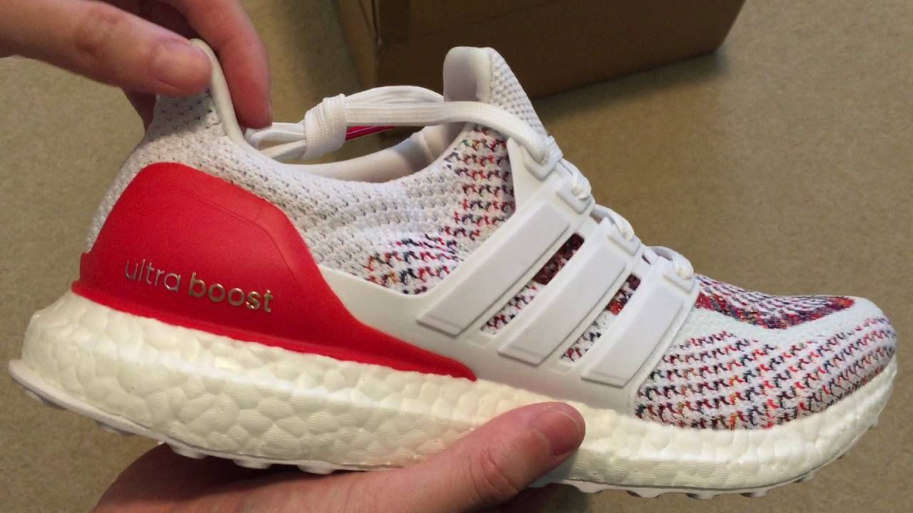71b17d2b78f38 Adidas Ultra Boost Multicolor 2.0 Sneaker Unboxing - YouTube